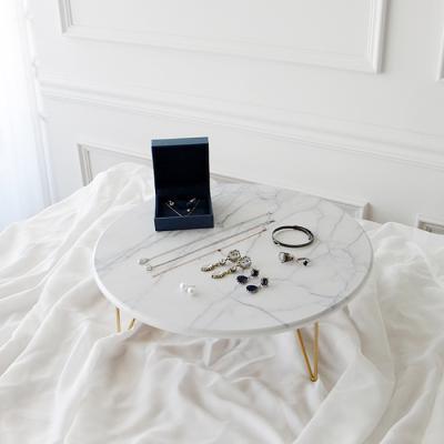 라벨르 마블 원형 테이블- 대