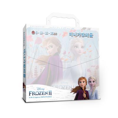 디즈니 겨울왕국2 미니가방퍼즐(8,10,12,14조각)