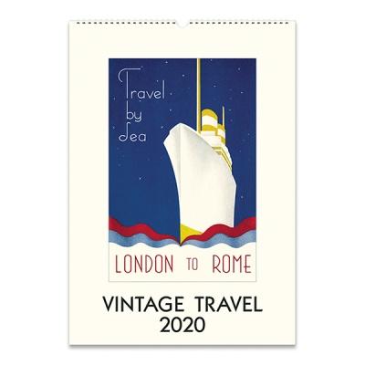 2020 카발리니 캘린더 Vintage Travel
