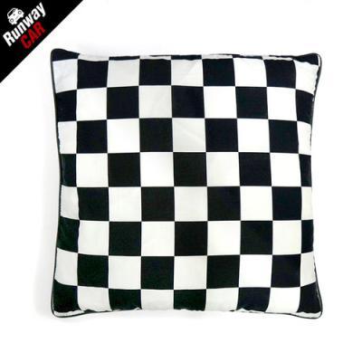 체스 패브릭 방석