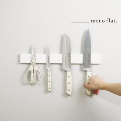 모노플랫 ctrl+v 무타공 자석칼걸이40cm 1입 주방정리