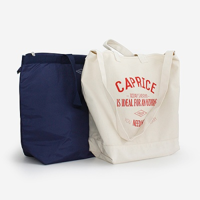 (Confiture) Holiday Tote(보냉백포함) - Natural(Navy)