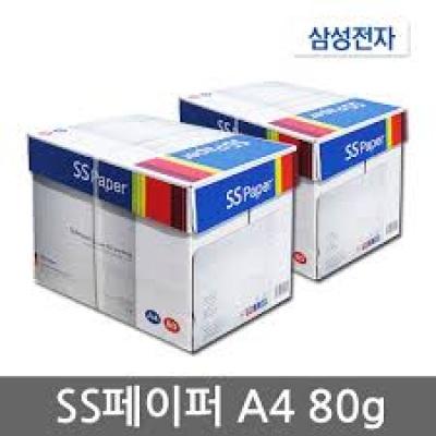복사용지 A4  80g (2,500매) SS PAPER (1BOX)