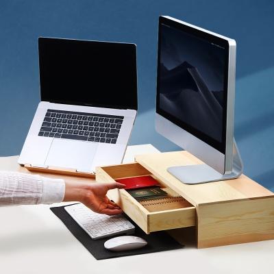 우드로하우스 소나무 원목 컴퓨터 모니터받침대 5종