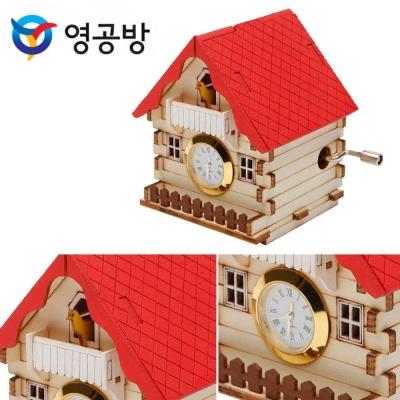 영공방 오르골시계 뻐꾸기집 (YM864 2)