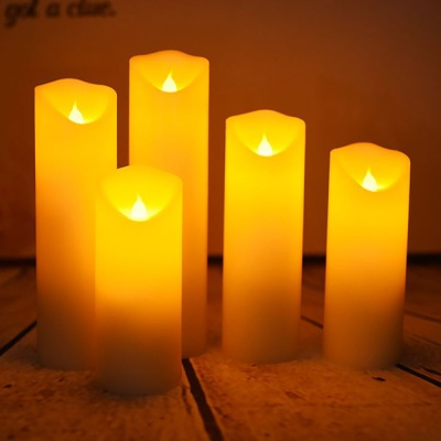 머레이 LED 촛불 양초 무드등 5개 세트