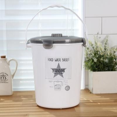스칸디나 밀폐형 음식물 쓰레기통(4.5L) 스타