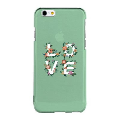 Love - Green for Clearcase(아이폰케이스)