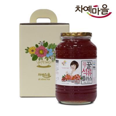 차예마을 석류 차 꿀 과일 청 선물세트
