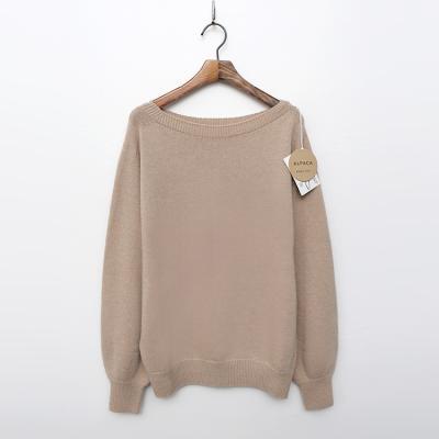 Maille Alpaca Wool Lip Sweater
