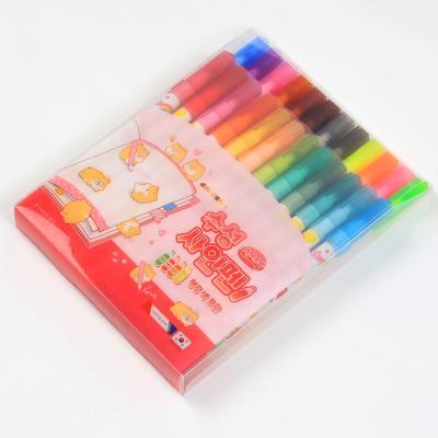 7000 수성싸인펜 (24색/핑크)