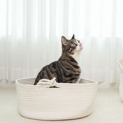 펫트리움 고양이 바구니 하우스 고양이집 숨숨집