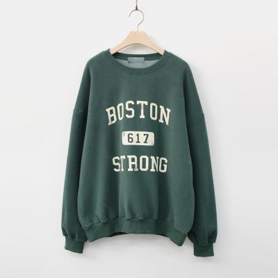 Gimo Boston Sweatshirt - 기모안감