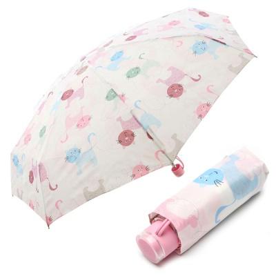 5단 수동 우산(양산겸용) - 낭만고양이