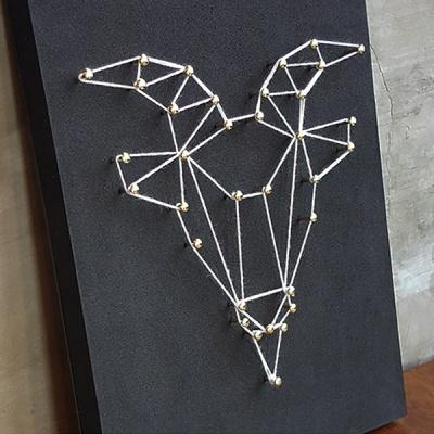 별자리 스트링아트(염소자리)