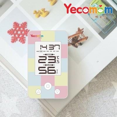 [예꼬맘] 디지털 온습도계 시계겸용