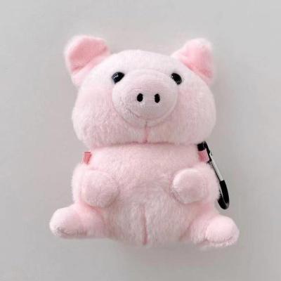 에어팟 1/2/3 프로 핑크돼지 인형 케이스 카라비너SET