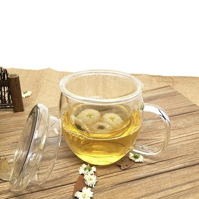 [로하티]다인 내열유리 티머그 / 손잡이유리컵
