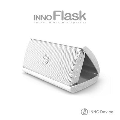 INNOFLASK 포켓사이즈 블루투스스피커 이노플라스크 / 화이트