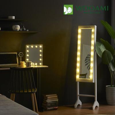 [우아미] 퍼블릭 LED 수납형 전신 거울