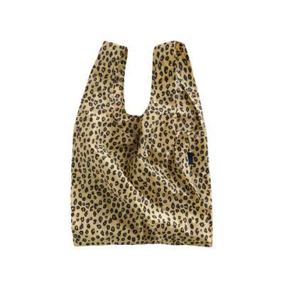 [바쿠백] 장바구니 접이식 시장가방 Honey Leopard
