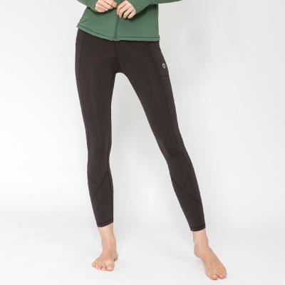여성 트레이닝복 포켓 요가레깅스 DFW4023 브라운