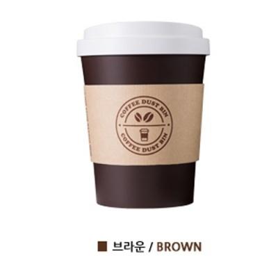 [시스맥스] 미니커피컵휴지통 (53100) 브라운 [개/1] 351109