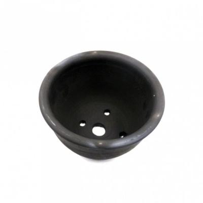 빈티지 블랙 흑시루 13x8cm (1호) 토분(검정 화분)