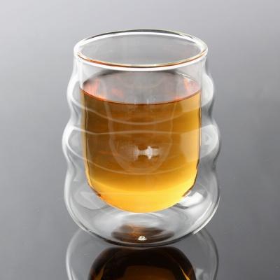 [로하티]폴링 내열 유리컵 / 홈카페 커피 주스잔