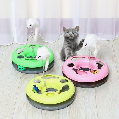 고양이 용품 장난감 캣볼 사냥 공 쥐 CT-7769 캐츠