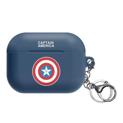 마블 심플 심볼 에어팟프로 케이스 캡틴아메리카