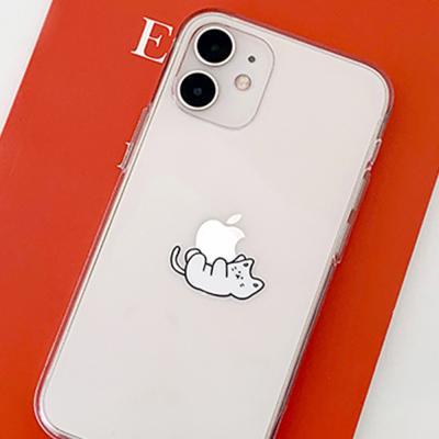 [아이폰전용] 꾹꾹모디 디자인 클리어케이스
