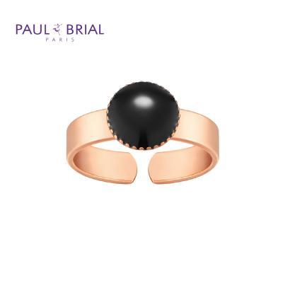 폴브리알 PYBR0106 (PG) 서클 밴드 반지 BLACK