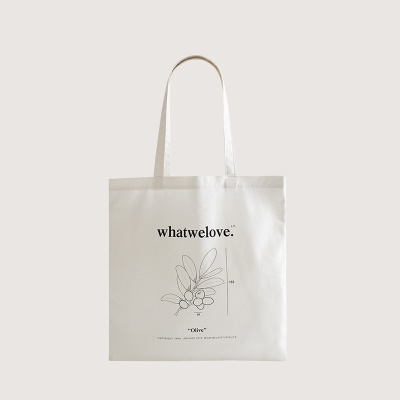 WWL MarketBag Olive-White