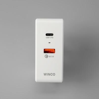 윈코 USB PD 퀵차지3.0 고속멀티충전기 어댑터