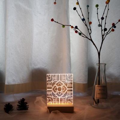 한국 전통 문양 아크릴 무드등 만들기 패키지 DIY