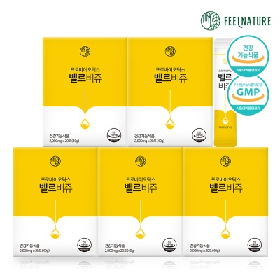 필네이처 프로바이오틱스 유산균 벨르비쥬 5box