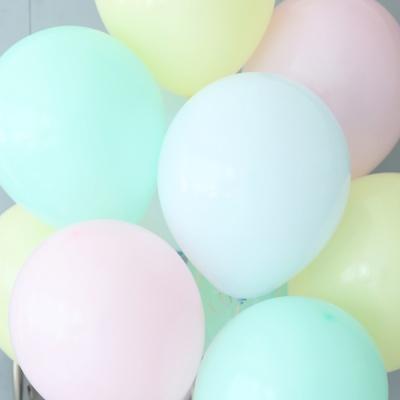 천장장식 마카롱풍선(헬륨효과)세트-워터메론