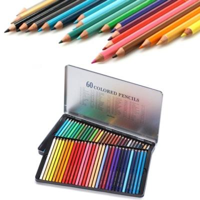 문화 60색 틴 색연필