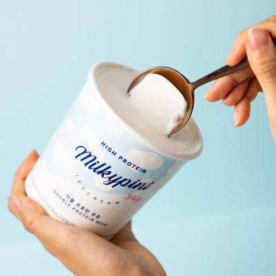 밀키파인트 더블 프로틴 우유