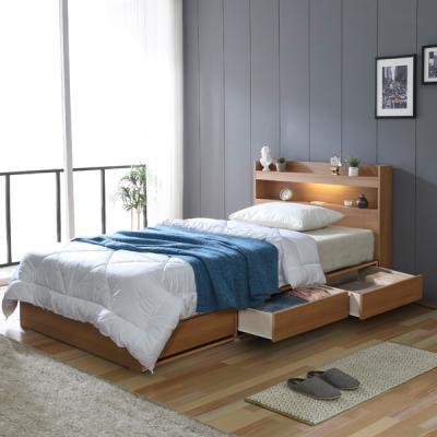 아르메 엘피노 LED 수납형 침대 SS_밸런스 독립매트
