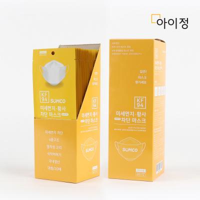 아이정 KF94 미세먼지 황사 차단 마스크 40개