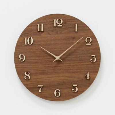 (khyn005)저소음 우드디자인시계 (우드숫자)