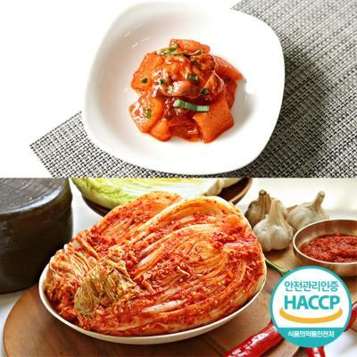 [HACCP] 한옹 꼴깍 400g + 포기김치 10kg