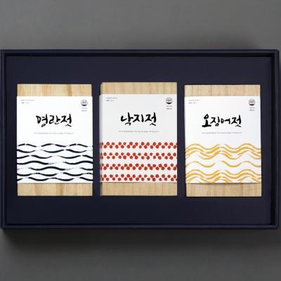 해성젓갈 2-2호 선물 (명란500g+낙지500g+오징어500g)