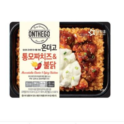 [아워홈] 온더고 통모짜치즈&불닭(290g)