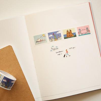마스킹테이프 : stamp - 07 Landmark
