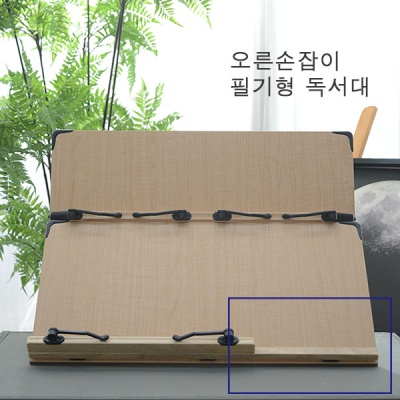 필기용 2단 높이조절 공시생 책받침대 S601 독서대