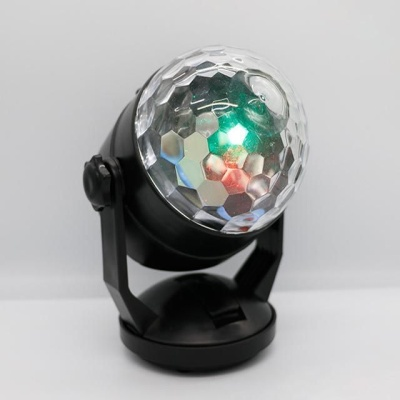 가정용 싸이키 휴대용 노래방 LED 미러볼조명