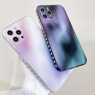 아이폰 12 11 미니 pro max 그라데이션 젤리 케이스
